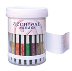 Accutest 5 Panel Urine Drug Test Kit (25/Tests) (AMP, COC, BZO, OPI300)