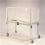 Epoxy Finish Child Crib with Trendelenburg Deck