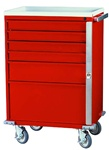 E-Series, Six Drawer, Emergency Cart