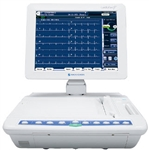 Nihon Kohden 2550 Interpretive Touch-Screen ECG Machine