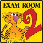 Exam Room 2 Sign