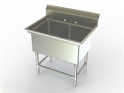 Double Bowl Sink (NSF)