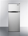 Summit Appliance FF1159SS 10.3 Cu Ft ADA Refrigerator & Freezer, Stainless Steel (General Purpose)