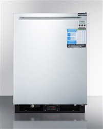AccuCold FF590SSHHMEDDT Wide Undercounter All-Refrigerator w/Digital Thermostat