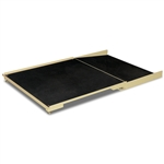 Detecto Floor Scale High Capacity, Ramp, MV1 Indicator