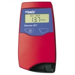HemoCue Glucose 201 Analyzer w/ Glucose Control Solution High & Low (1 Vial Each) & 300/bx Curvettes