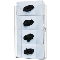 Bowman Glove Box Dispenser - Quad