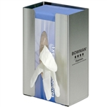 Bowman Glove Box Dispenser - Single - Large Capacity With Flexible Spring