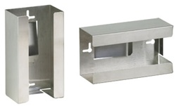 Clinton Single Stainless Steel Glove Box Holder