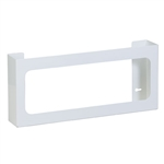 Clinton Quad White Steel Glove Box Holder