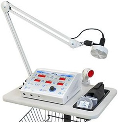 Hands-Free Ultrasound Therapy Unit with Interferential Muscle Stim and Premod Current