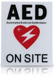 AED Facility Decal for ​Philips OnSite AED