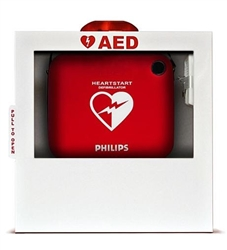 Philips AED Wall Cabinet w/Alarm & Strobe