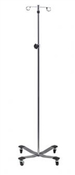 Clinton Heavy Base, 2-Hook IV Pole