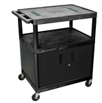 "40"" Endura A/V Cart - Two Shelves, Cabinet"