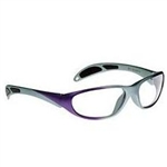 Techno-Aide Avant Guard Radiation Protection Glasses: Purple and Gray
