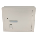 Lakeside High Security, Electric Lock, (1) Fixed & (2) Adjustable Shelves, Medication and Narcotics Cabinet