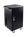 30 Capacity Tablet/Chromebook Charging cart w/keypad lock