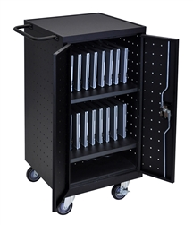 18 Laptop/Chromebook Capacity Charging Cart
