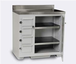 Lead Lined Cabinet