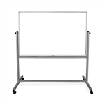 60x40 Magnetic Mobile Whiteboard, Reversible