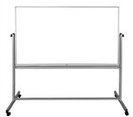 72 x 40 Double-Sided Magnetic Mobile Whiteboard