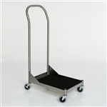 Mid Central Medical Stainless Steel Carry Cart