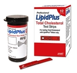 LipidPlus® Total Cholesterol Test Strips