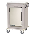 Harloff MH Cart, 1.8 Cubic Feet Medical Grade Refrigerator, One Drawers with Key Lock