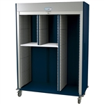Harloff MS8160R-SPLITA Triple Column Medical Storage Cart
