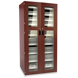 Medical Storage Casework - Tall Cabinet, Double Door Key Lock