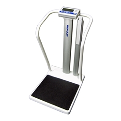 Befour MX810 Measurement Station Bariatric Tilt & Roll Handrail Scale