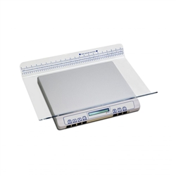 NK3000 Infant Scale, Aluminum Plate Construction, Battery Operated