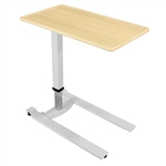 Novum Medical iSeries Overbed Table - Standard Gray Base