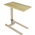 Novum Medical iSeries Overbed Table - Ultra Low Tan Base