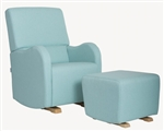 High-end, Upholstered Glider Rocker
