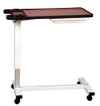 Novum Medical Overbed Table, Split Top, Gas Assist, 18 x 32 Top