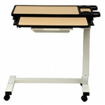 Novum Medical Acute Care Overbed Table with Vanity