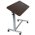 "Novum Medical Economy Tilt Top Overbed Table - 15"" x 30"" Top"