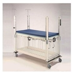 Chrome Youth ICU Crib - 4 Side Release - Gatch 36 x 72""