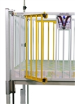 "Dialysis Gate, One Side, (2) Door Same Side 1 Reg Left Side or Right Side, for 44"" Crib"