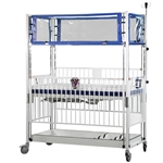 Epoxy Youth ICU Klimer Crib with 4 Side Release and Gatch 36 x 72""