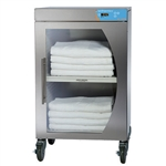 Novum Medical Blanket Warmer, Energy Efficient full wall, 7.7ft3 capacity, Casters, 20-25 blankets