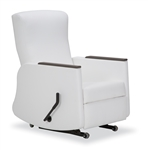 iSeries Stationary Wall Saver Recliner - Lever Operated - 350 Lbs Capacity