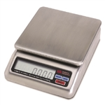 Stainless Steel Diaper Scale - Rechargeable Battery Operated
