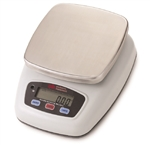 Battery Operated Stainless Steel Diaper Scale - Scale Plate with Plastic Casing