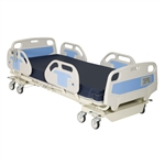 "Novum Medical Adult Bed; 84"", 5 Position; Electric; with manual CPR release & footboard controls, Nurse Call"
