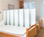 Renaissance Opaque Privacy Screen can be used as a screen or partition