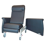 ​Medical Transport Recliner - Trendelenburg - 2 side tables - Swing Arms - 350 lbs Capacity