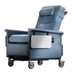 "Novum Medical RC Series Bariatric Medical Recliners - Side Table - Push Bar - 500 lb Capacity - 5"" Casters"
